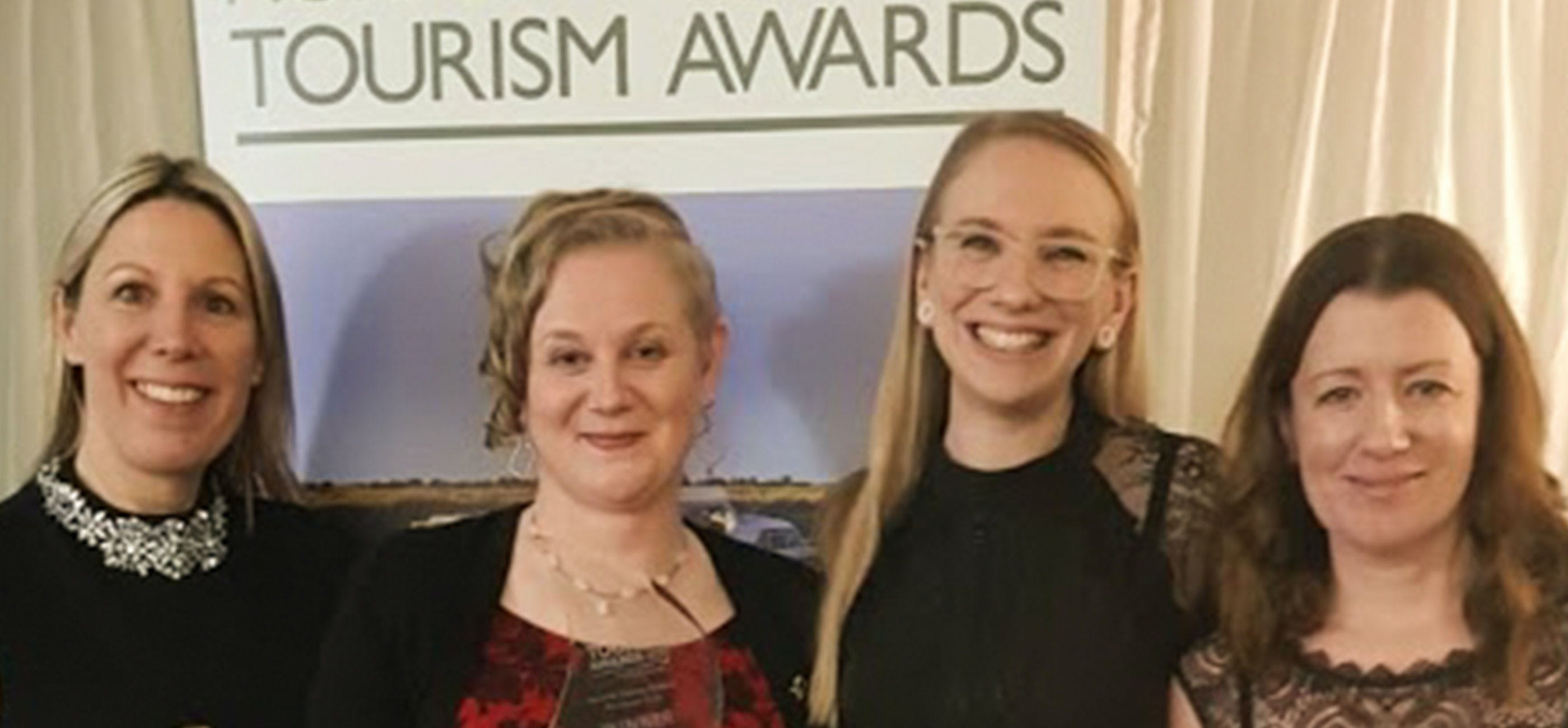 Winners at the Norfolk & Suffolk Tourism Awards 2020