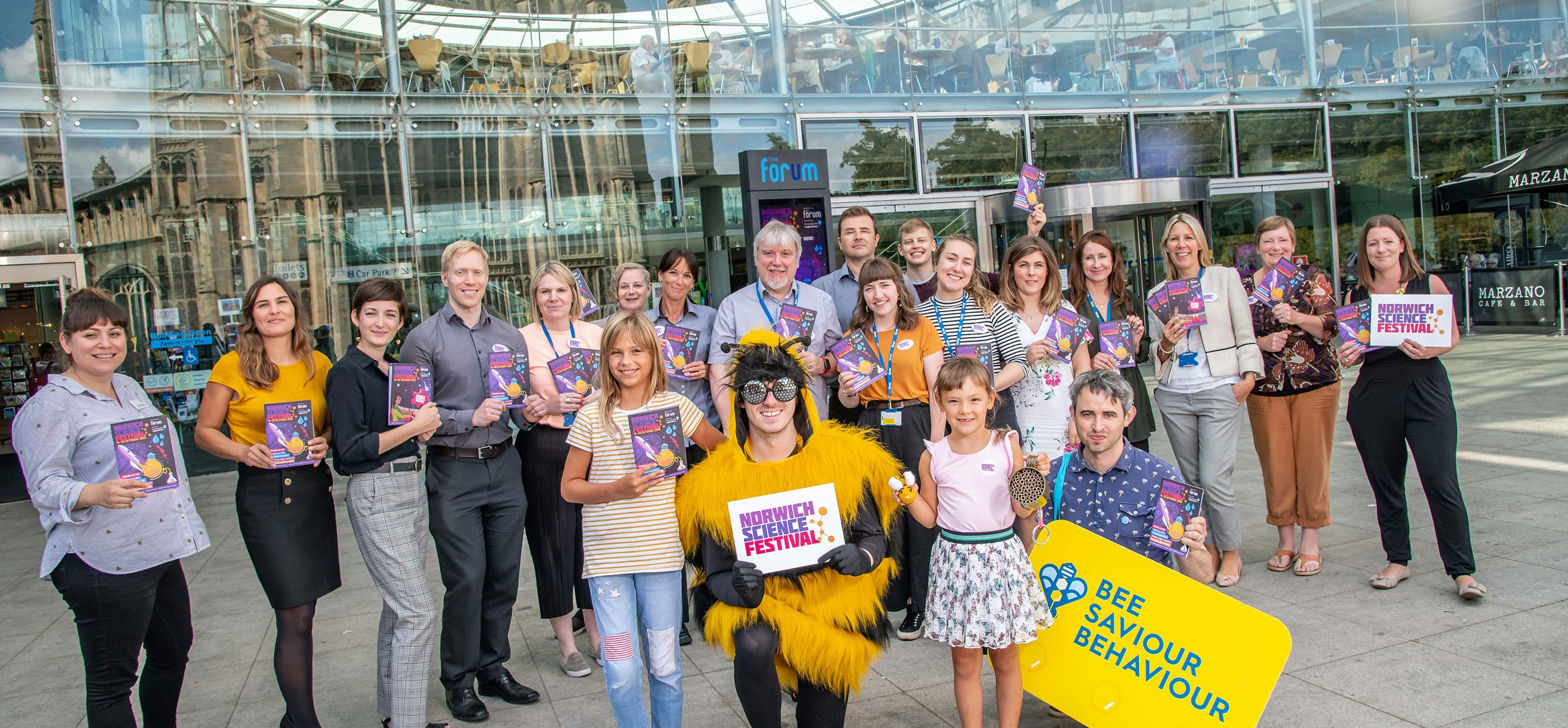 Norwich Science Festival 2019 brochure launch - credit Simon Finlay Photography