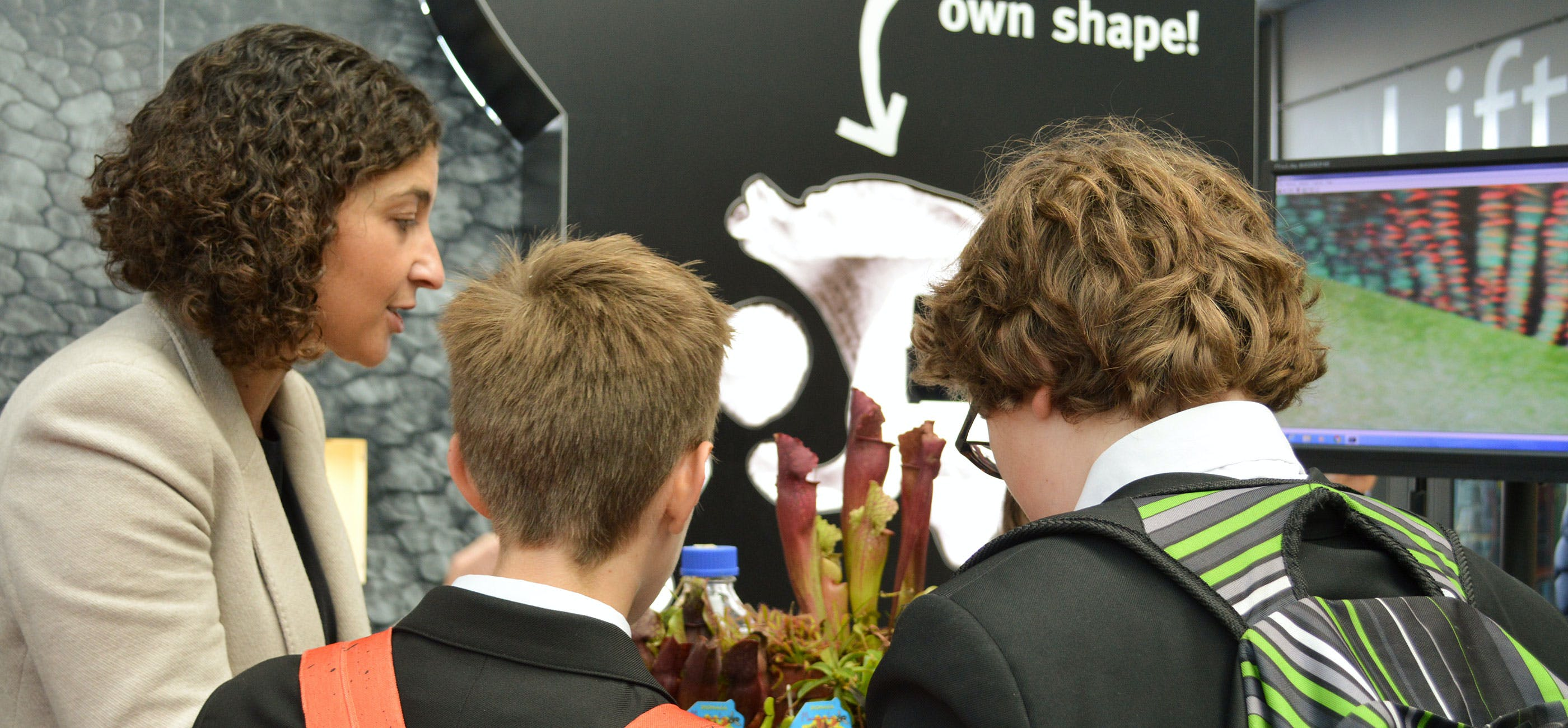 School students at Norwich Science Festival 2016