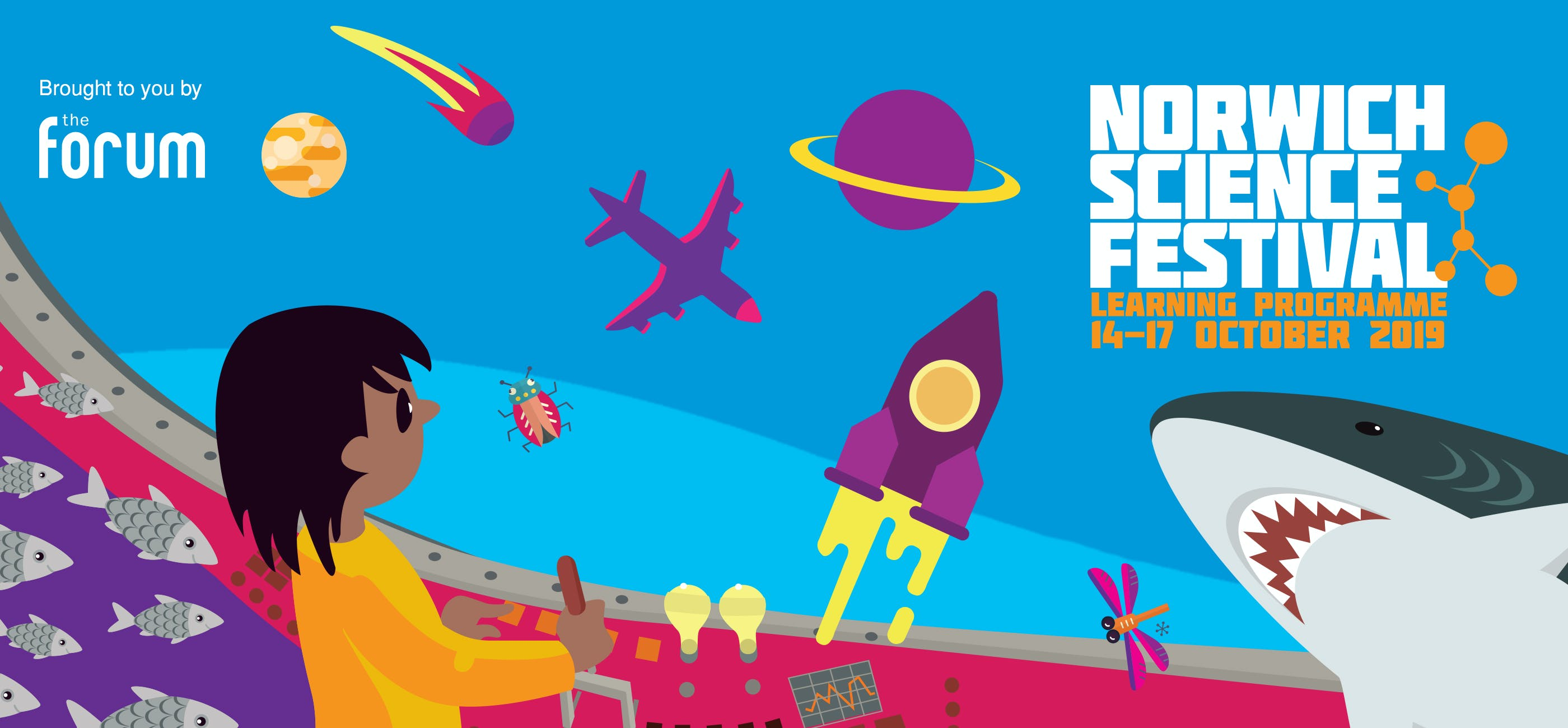 Norwich Science Festival 2019 Learning Programme