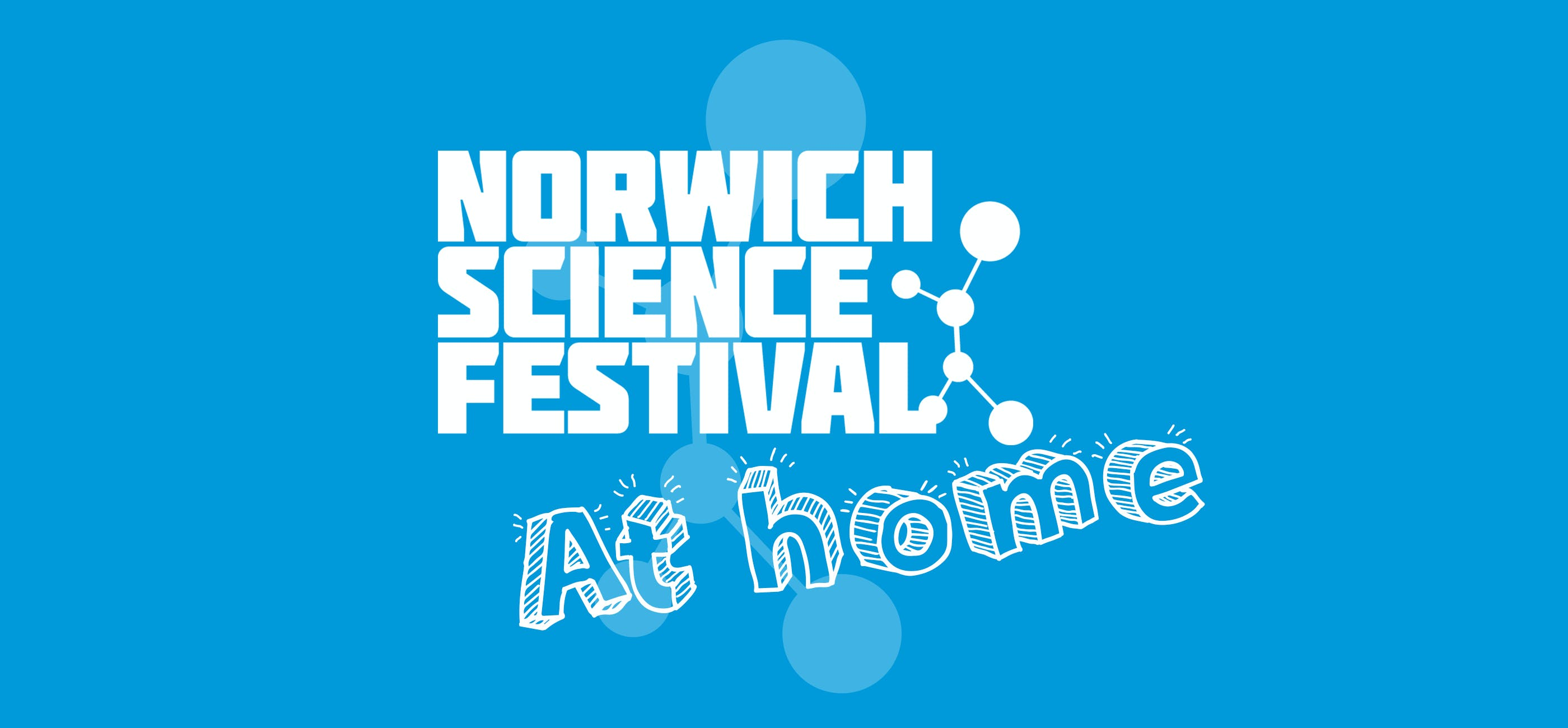 Norwich Science Festival at home logo